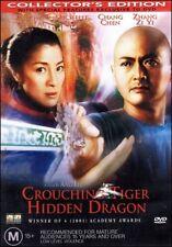 CROUCHING TIGER HIDDEN DRAGON (Chow YUN-FAT Michelle YEOW Ziyi ZHANG) DVD Reg 4