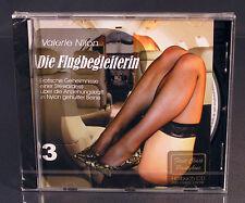 Erotik-CD Die Flugbegleiterin 3 - Erotischer Roman Hörbuch von Valerie Nilon NEU