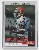 1999 PACKERS Antuan Edwards signed ROOKIE card Edge #163 AUTO RC Autographed