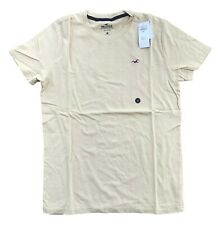 Hollister By Abercrombie & Fitch Mens Crew neck T-Shirt Must Have Tee Free Shipn