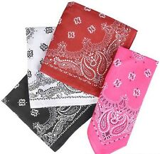 "(WHOLESALE LOT OF 4) 19"" Bandanas"