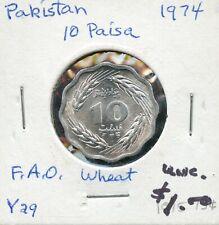 1974 Pakistan 10 Paisa Coin FN429
