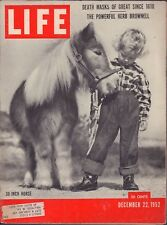 LIFE December 22,1952 30 Inch Horse / Oxygen for Athletes / Church Art in Haiti