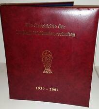 Briefmarkenalbum 177 Marken Die Geschichte der Fußball-WM 44 Seiten