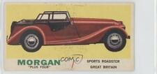 1961 Topps Sports Cars #17.1 Morgan Plus Four (Gray Back) Non-Sports Card 0s4