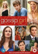 GOSSIP GIRL Complete Series 4 DVD Box Set All Episodes Fourth Season Original UK