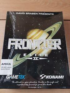 Frontier Elite 2 II Amiga Floppy Disc Game Original Konami Brand New Sealed Rare