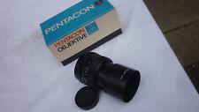 german lens pentacon auto 2,8 / 135 MC camera