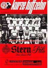 II. BL 86/87  Rot-Weiß Essen - SSV Ulm 1846, 02.08.1986
