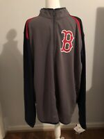 *NEW WITH TAGS* Boston Red Sox Full Zip Waffle Knit Jacket MLB