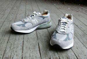 New Balance MR 993 GL Gray White Running Shoes Size 10.5 EE Made in the USA, NIB