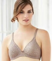"GLAMORISE Taupe The Perfect ""A"" Wire-Free T-Shirt Bra, Size 52A, NWOT"