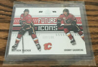 TKACHUK AND GAUDREAU 19-20 SP AUTHENTIC CALGARY FLAMES FUTURE ICONS 132/199