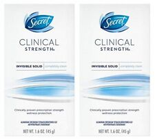 Secret Clinical Strength Invisible Solid Completely Clean 2 Pack