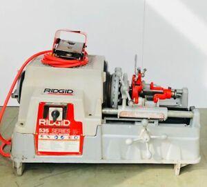 RIDGID 535 SERIES Tuyau Filetage Machine / Tuyau Enfile-Aiguille 115 V #4