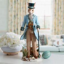 Fitz & Floyd Dapper Rabbit Male Figurine, Blue Brand New