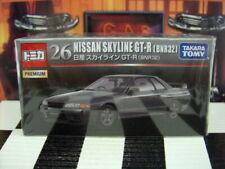 TOMICA PREMIUM #26 NISSAN SKYLINE GT-R [BNR32] 1/62 NEW IN BOX