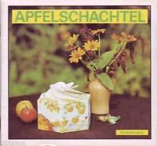 Apfelschachtel Bastelbogen 1989 Junge Welt Berlin/DDR