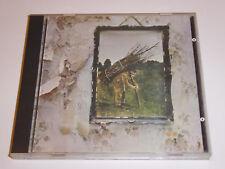 Led Zeppelin - IV (1971) - Early West Germany No Barcode Target CD ALBUM Zepplin