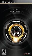 DJ Max Portable 3  (PlayStation Portable, 2010) BRAND NEW