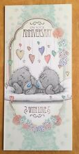 "'On Your Anniversary' Me to You Wedding Anniversary Card - Tatty Bear -8.25""x4"""