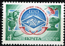 Russia Soviet Space Communication Sputnik Flight stamp !972 MNH