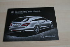 126272) Mercedes CLS Shooting Brake Edition 1 - Preise & Extras - Prospekt 07/20