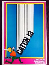 VINTAGE PETER MAX GRAPHIC ART POSTER PRINT~CATCH 13