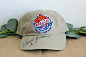WARREN MOON AUTOGRAPHED 2000 NFL Pro Bowl Official Baseball Hat Unworn Cap