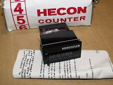 Hecon Hengstler Corporation Counter G0864489 115 Volt Push Button Reset