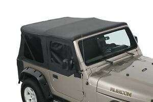 Jeep Wrangler Soft Top TJ 1997-2006 With Tinted Windows & Upper Door Skins