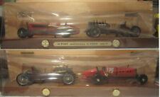 1577. Brumm Gift Set 2 models anni '70 R014-R015 Fiat Mefistofele & Ford 999