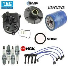 Tune Up Kit Cap Rotor NGK Wires Spark Plug for Honda Prelude Si; 2.3L 1992-1996