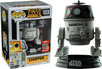 EXCLUSIVE STAR WARS IMPERIAL DISGUISE CHOPPER FUNKO POP VINYL NEW IN BOX