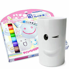 Ceramics Marker Pastel 8-Color Set DIY Porcelain Painter Pens Drawing Mug Japan