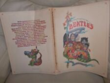 THE BEATLES ILLUSTRATED LYRICS BOOK GENUINE 1969 FIRST EDITION ALAN ALDRIDGE