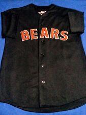 CHICAGO BEARS Unique NFL Baseball JERSEY Shirt BUTTON UP SZ MEDIUM M New w/o Tag