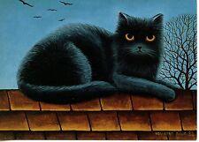 POSTCARD CARTE POSTALE ILLUSTRATEUR ANNA HOLLERER N° LA 108 / CAT / CHAT