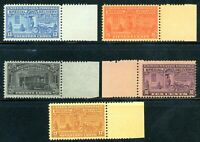 USAstamps Unused FVF US Special Delivery Set Scott E15 - E19 OG MNH