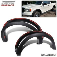 For 2004-2008 Ford F150 Matte Black Factory Style Fender Flares Wheel Protector