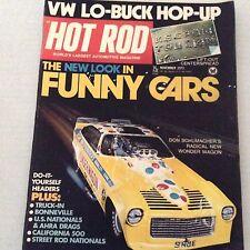 Hot Rod Magazine Don Schumacher's Wonder Wagon November 1973 070517nonrh
