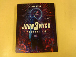 METAL CASE BLU-RAY / JOHN WICK 3 (KEANU REEVES)
