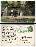 INDIANA Postcard - Muncie, Bear Pit, McCulloch Park G7