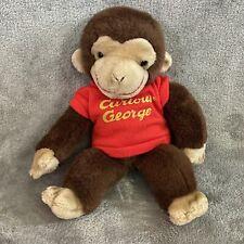"Gund 12"" Curious George Monkey Brown Plush Stuffed Animal"