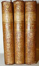 STORIA FRANCIA 3 voll - Millot: ELEMENS de l'HISTOIRE de FRANCE 1779 Neuchatel