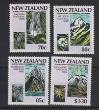 NEW ZEALAND 1987 STAMP SET MNH CENTENARY OF NATIONAL PARKS MOVEMENT SG 1428-1431
