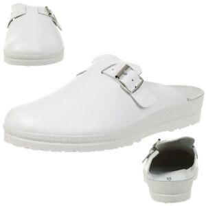 Rohde Neustadt D Zoccoli Uomo Pantofole Scarpe 1511 Bianco