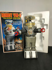"Vintage 1985 Lost in Space Toy Robot 16"" Tall ROBOT  YM-3 Masudaya in Box Robbie"