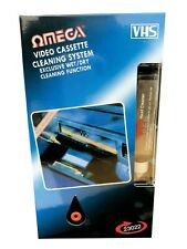 More details for vcr video cleaner vhs cassette recorder tape head cleaner system & fluid wet/dry