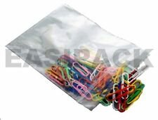 """100 Grip Seal Clear Resealable Bags GLA4 (9"""" x 12.75"""")"""